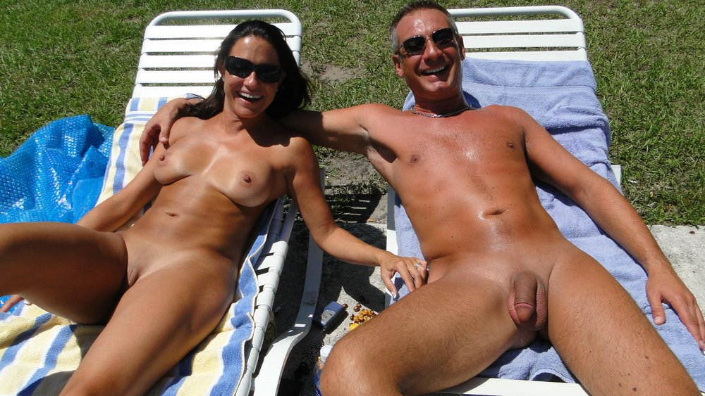 Couples in public naked
