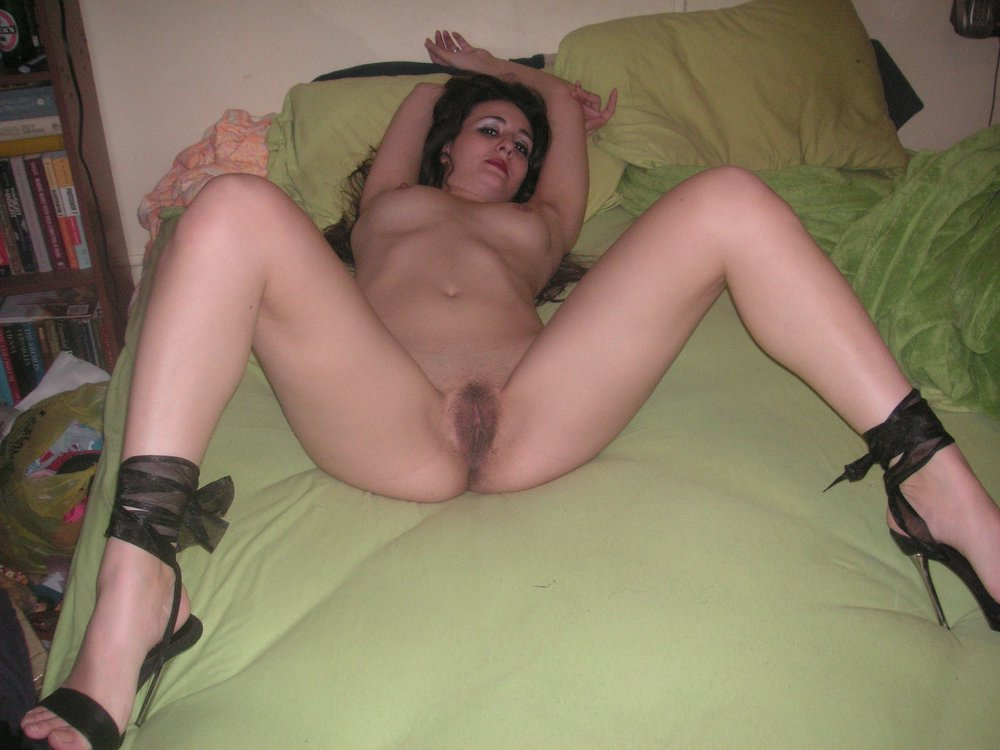 Nude middle aged wife