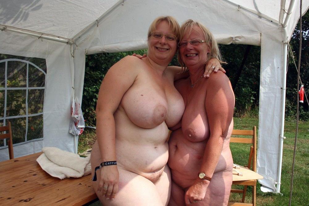 фото голых пожилых толстых баб
