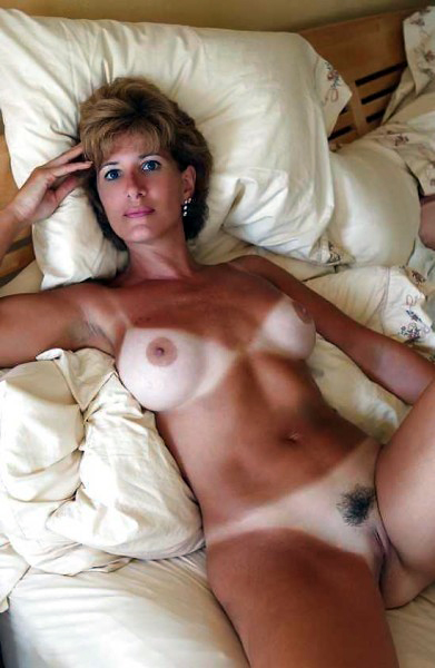 Horny mature nudists