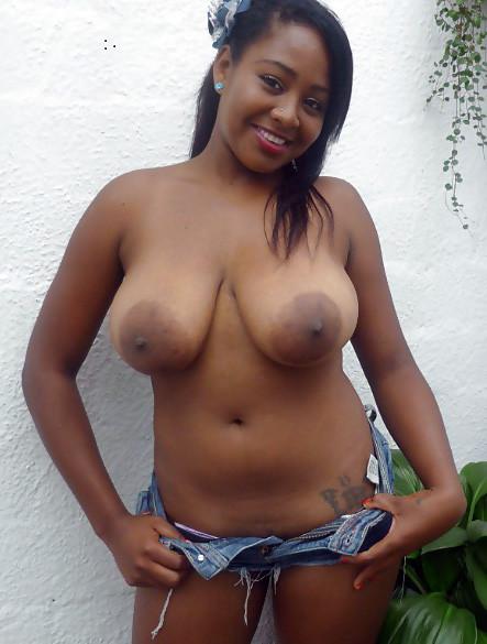 Naked black moms