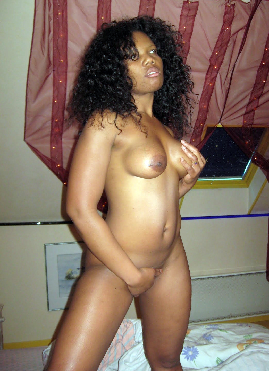 Homemade Ebony Teen Fuck