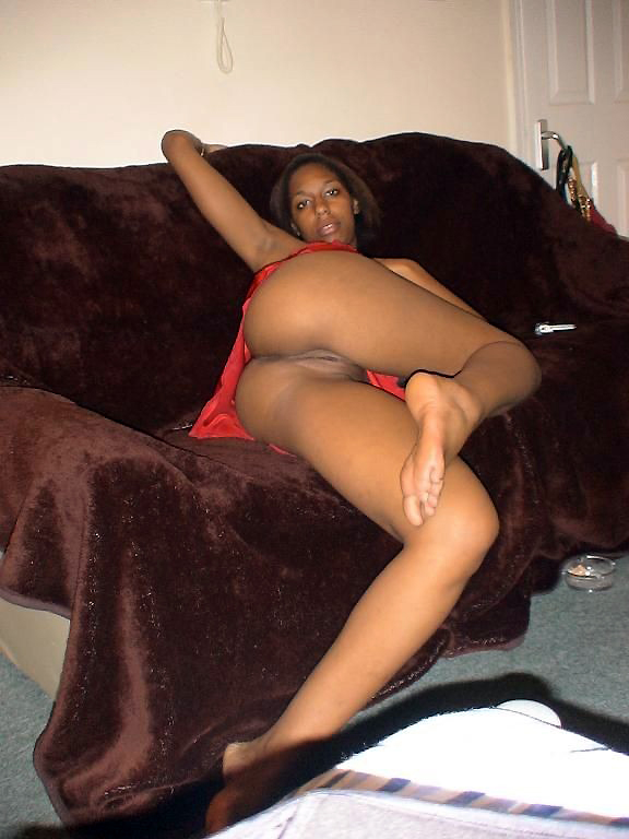 Almost Caught Ebony Teen