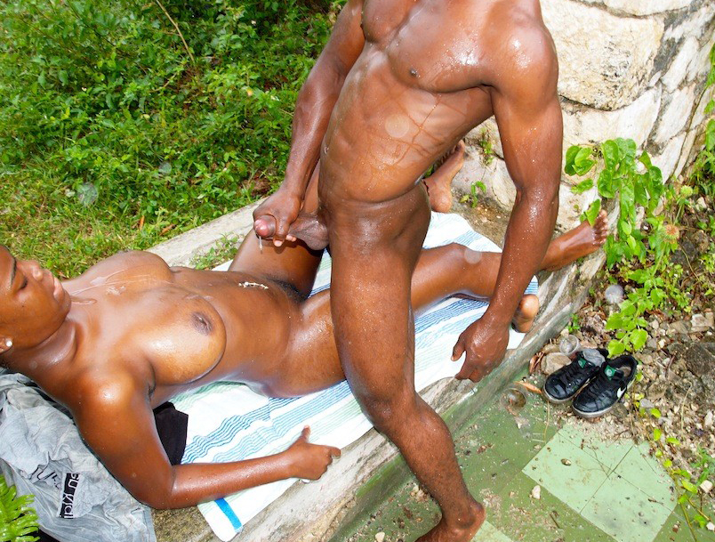 Couple Share Black Cock