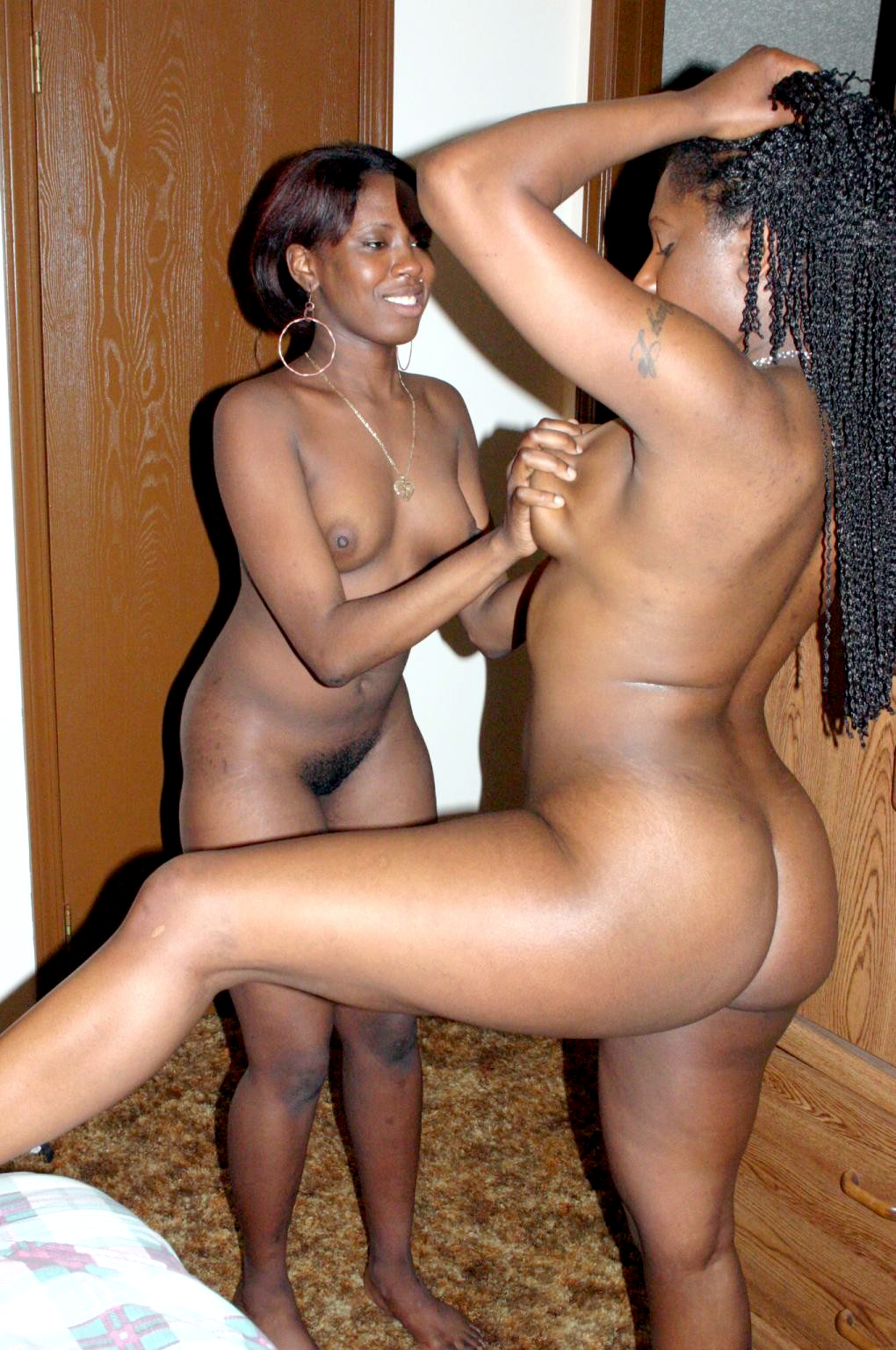 Consider, that black wife posing nude not