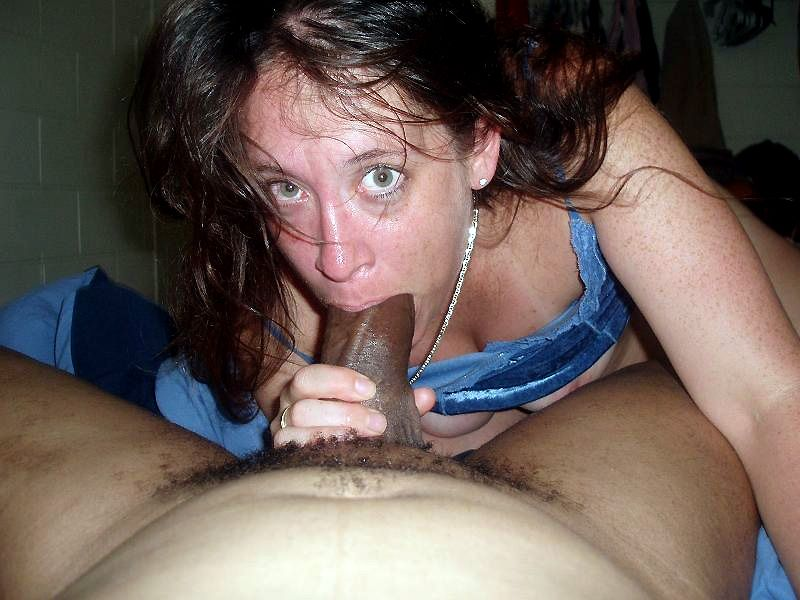 image White wifey does interracial sex