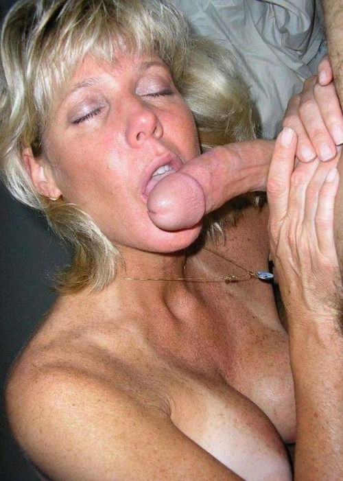 Older Women Cum Facials