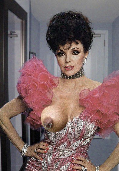 The Short Description: Joan Collins fake pictures. Return to the ...