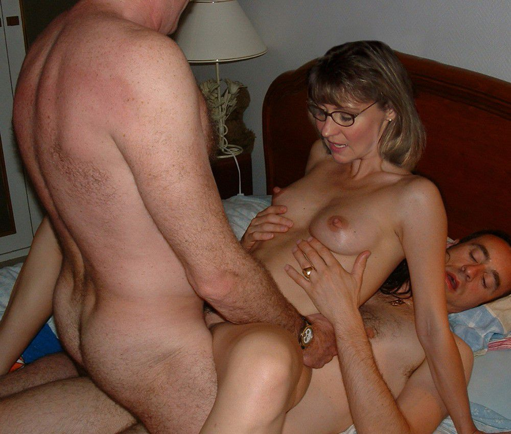 image Cuckold milf mix of swinger wives fucked by strangers