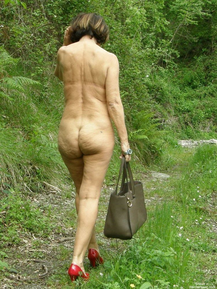 Naked mothers like naughty in nature, real German exhibitionists. Full ...