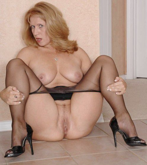 Milf using massager