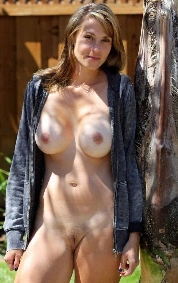 Busty nude photos girl bottle