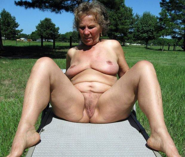 Mature grannma outdoor