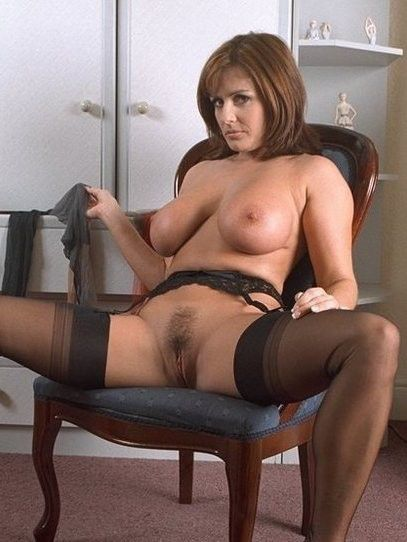 Hirsute Mother I In Stockings Screwed