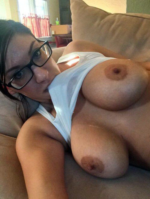 tits amateur natural selfie Big