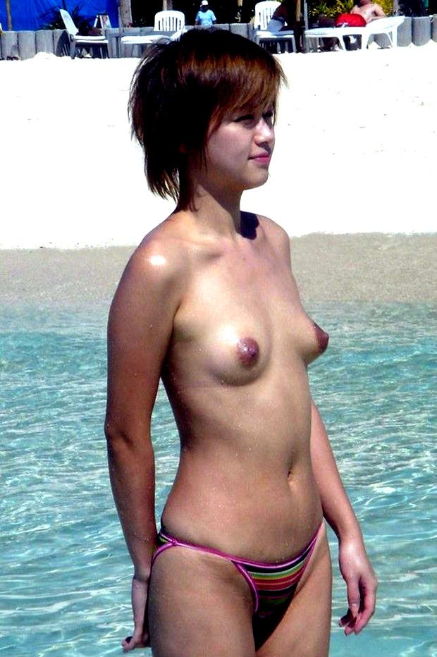 Asian girls with puffy nipples