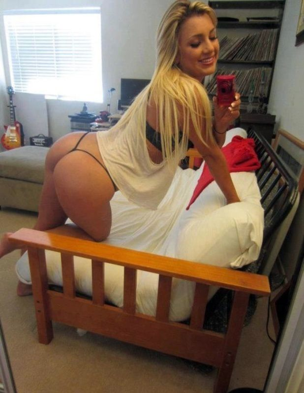 Big Ass Canadian Blonde