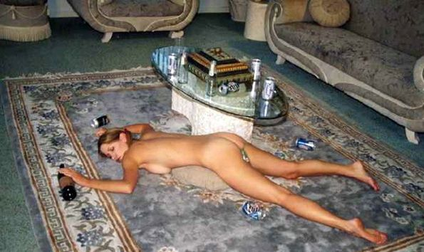 Drunk Naked College Teen 61