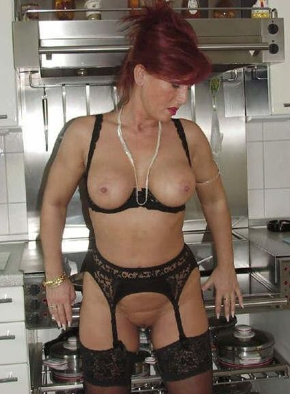 Homemade amateur mature lingerie