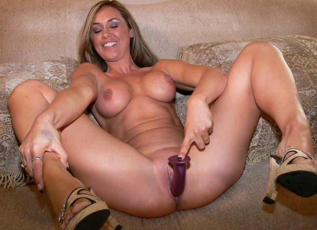 image Real housewife mom sucking and fucking young cock
