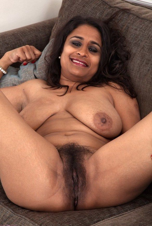 Busty hairy indian