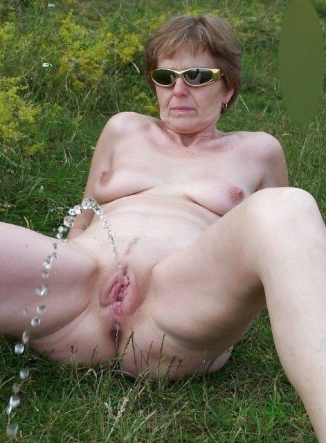 Variant Naked granny outside pics