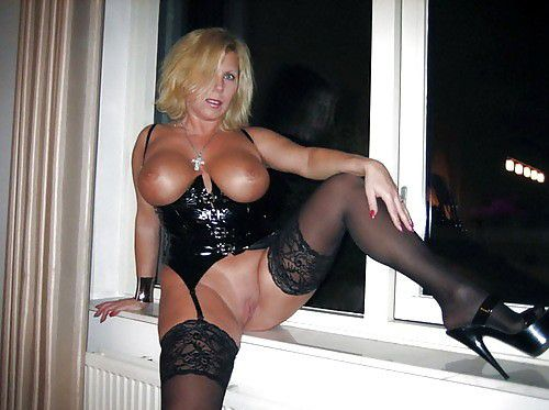cougar lingerie Hot mom