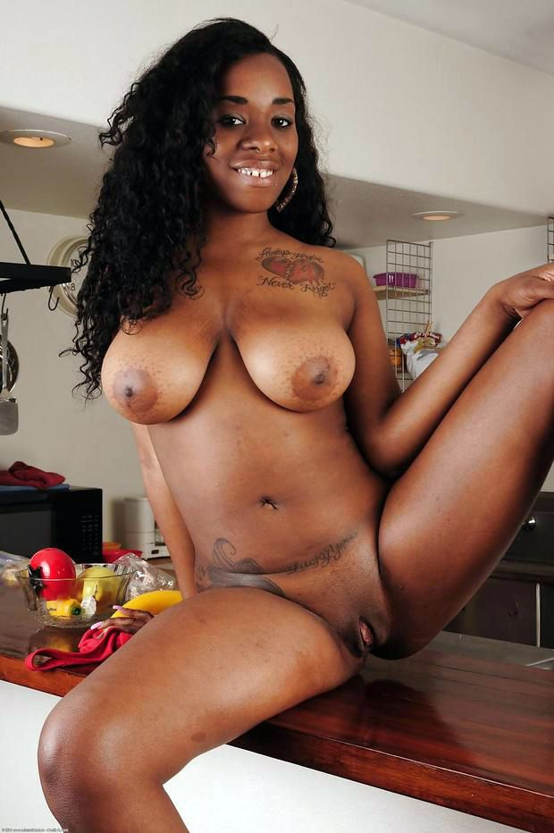 My sexy piercings busty ebony pornstar with pussy piercings 5