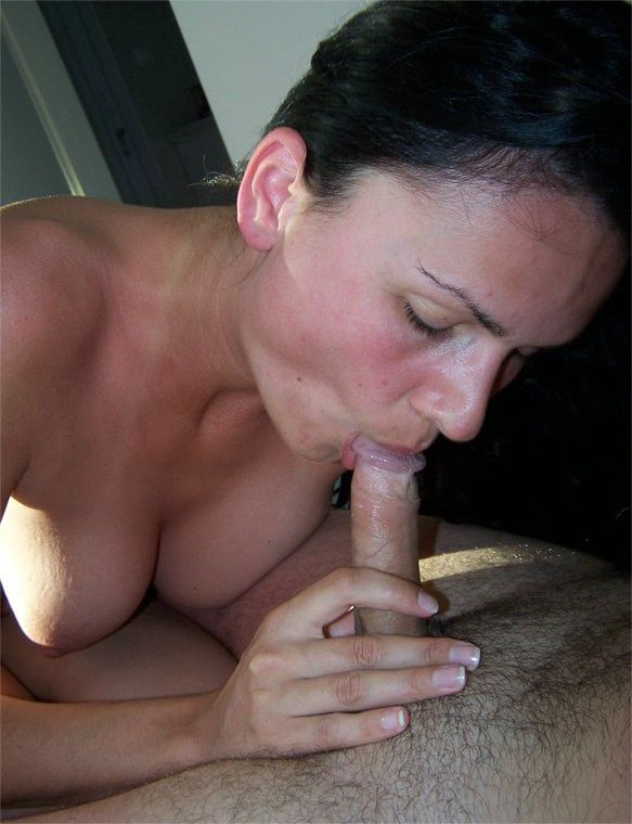 image Giving sexy hubby a blowjob swapin his cum in his mouth and kissin swallow