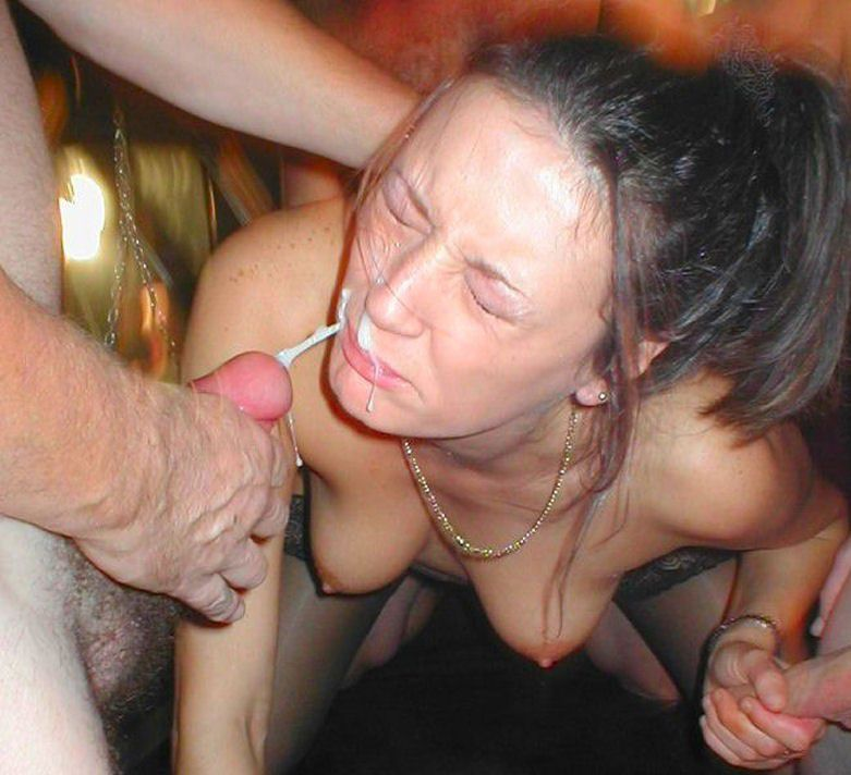Erotic wife sharing creampie