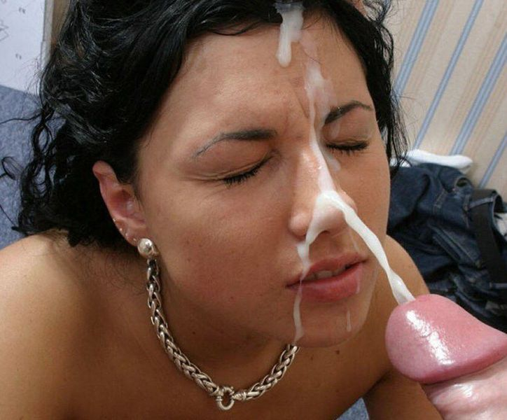 Amateur cocksucker mature swallows cum 8
