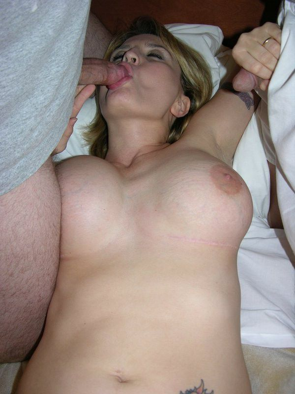 Amateur Thick Cock Blowjob