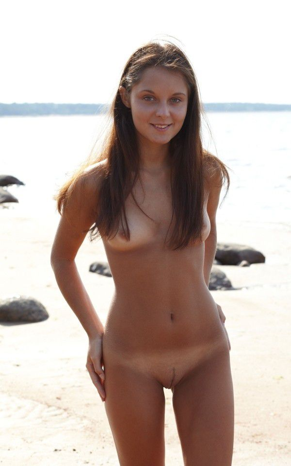 Teen french girls at beach