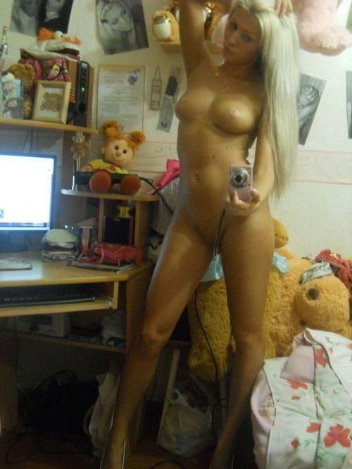 selfies Nude self shot