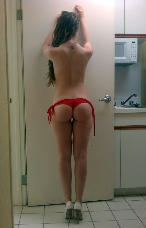 Brunette thong sexy in all became clear