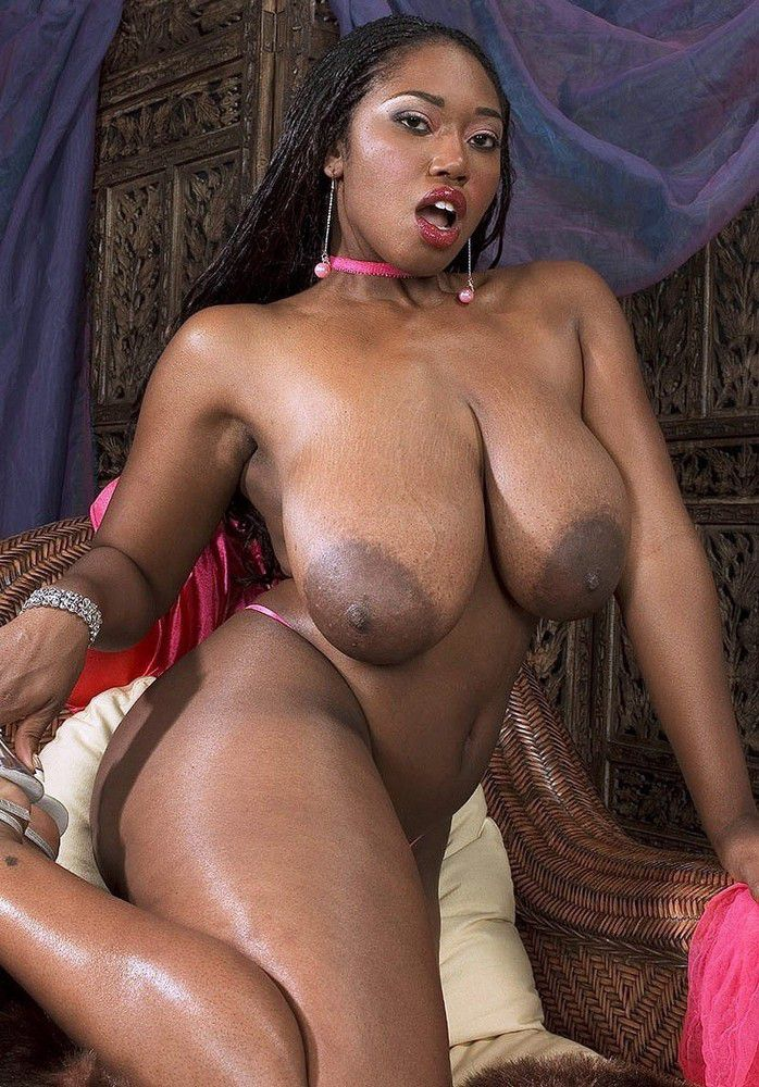 Mature black big tits