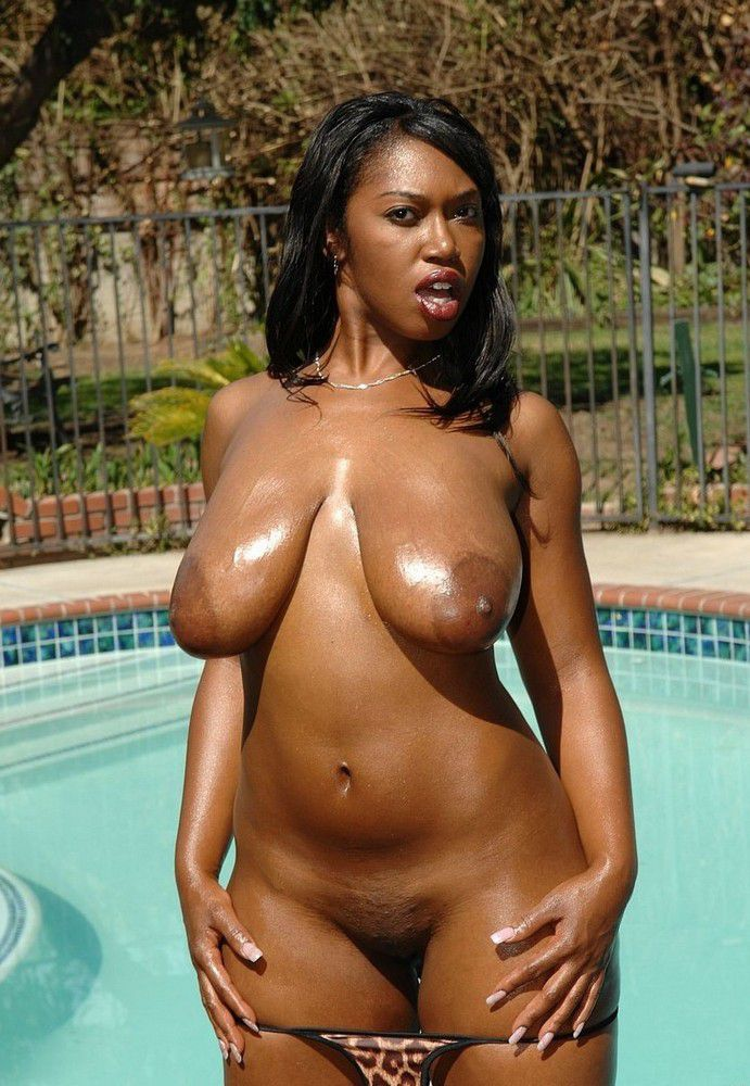 Big ass ebony tits