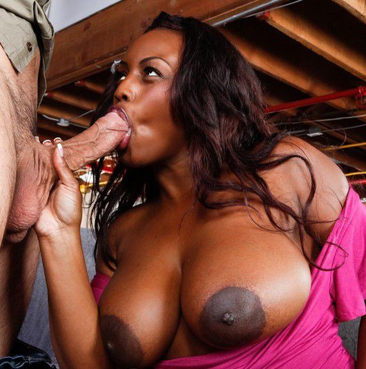 Ebony blowjob video free