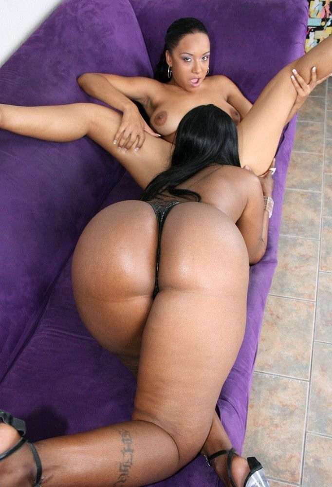Big Butt Ebony White Cock