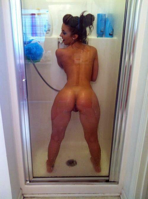 Just one Slutty girls in the shower thank