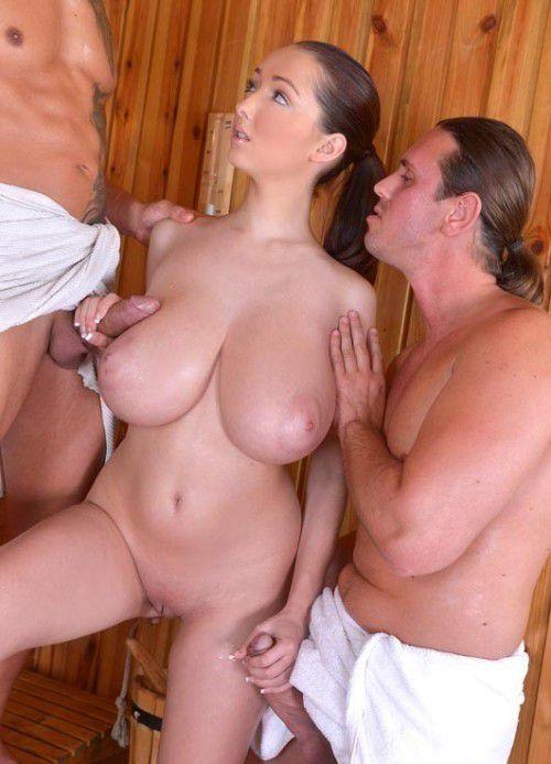 Huge tits bbw cock sucking video