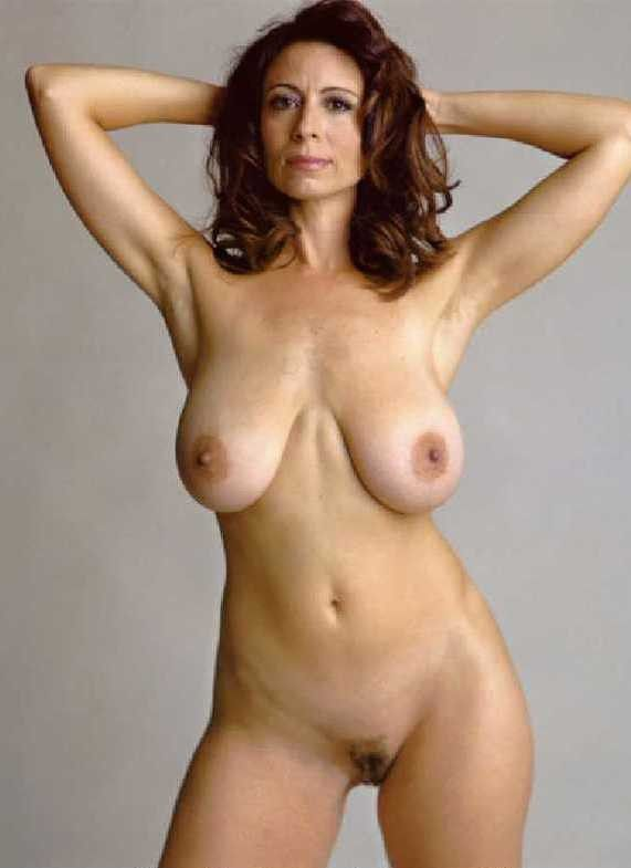 Brunette Big Natural Breasts