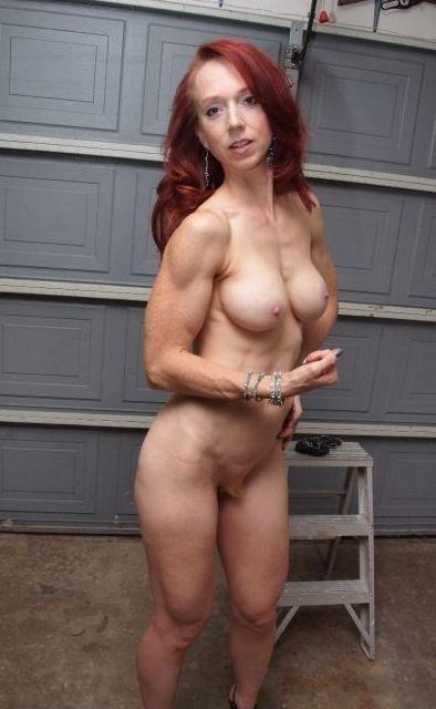 Nude Busty Redhead Milf