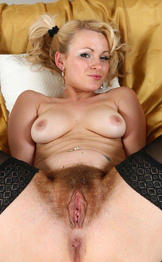 Hairy Blonde Mature Pov
