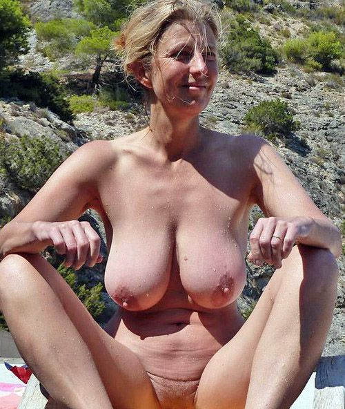 Stunning Blonde Big Tits
