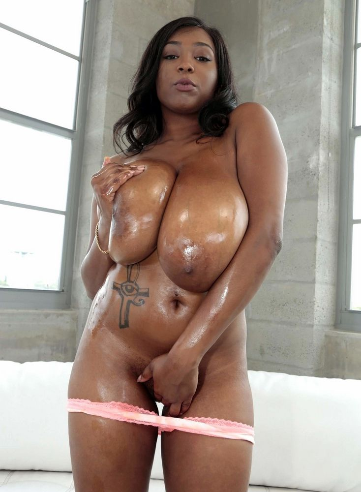 Skinny Big Natural Tits Ebony